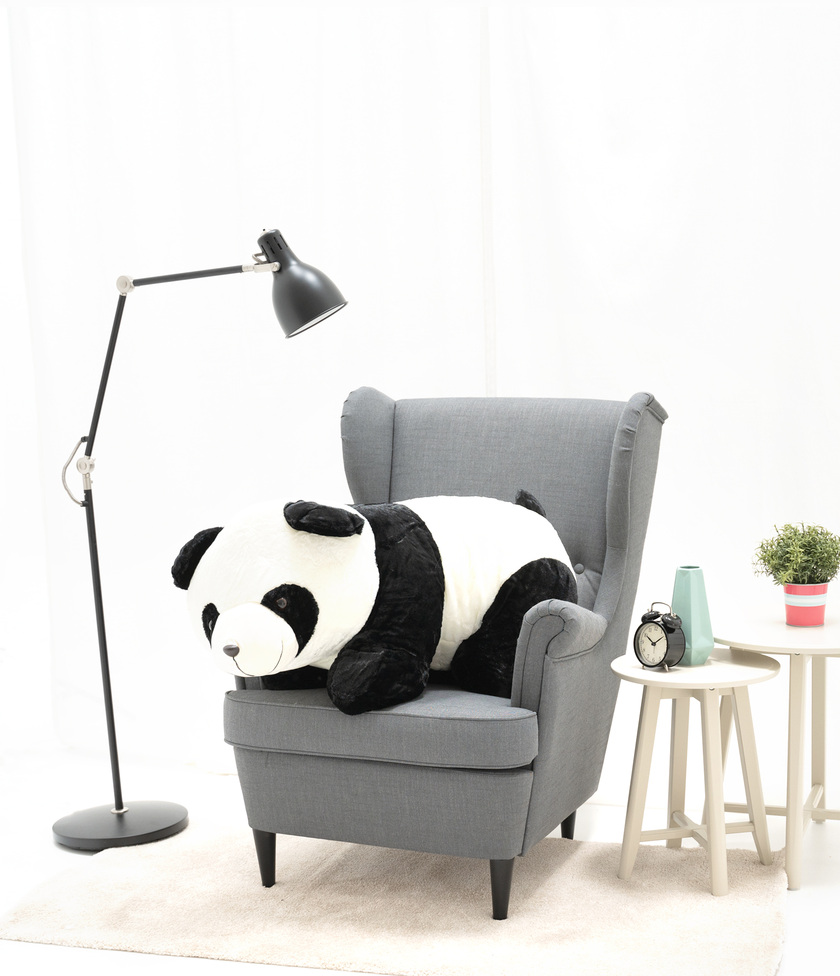 Panda lying